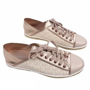Michael Kors Kristy Espadrilles Rose Gold Sneakers